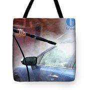 Bro4u Car Wash In Hyderabad Tote Bag
