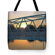 Broad Ripple Sunrise Tote Bag