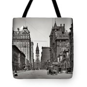 Broad Street Philadelphia 1905 Tote Bag