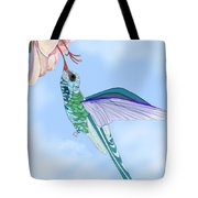 Broadbilled Hummer Tote Bag