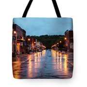 Broadway St. Excelsior Springs, Mo Tote Bag