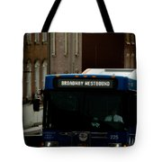 Broadway Westbound Tote Bag