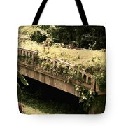 Broken Bridges Tote Bag