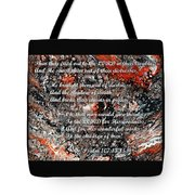 Broken Chains With Scripture Tote Bag