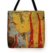 Broken Flames Tote Bag