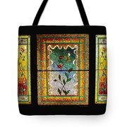 Broken Flowers Tote Bag by Donna Blackhall