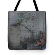Broken Flowers Tote Bag