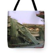 Broken Freeway Oakland Earthquake Tote Bag