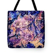 Broken Glass And A Snowstorm Tote Bag