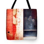 Broken Glass Like Flowers Tote Bag