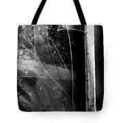 Broken Glass Window Tote Bag