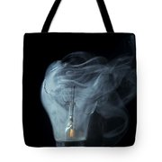 Broken Light Bulb Tote Bag