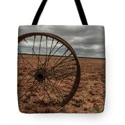 Broken Spokes Tote Bag