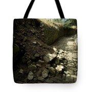 Broken Stone Wall Cascades Stones Tote Bag