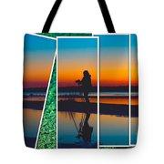 Broken Sunset Tote Bag