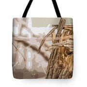 Broken Tree Base Tote Bag