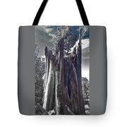 Broken Tree Tote Bag