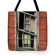 Broken Window Frame Tote Bag