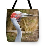 Brolga Profile Tote Bag