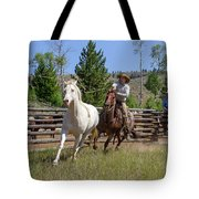 Bronc Roper Tote Bag