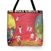 Bronco Bills Circus Tote Bag by English School