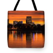 Broncos Sunrise Tote Bag