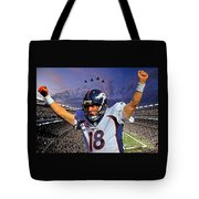 Broncos Win Super Bowl Fifty Tote Bag