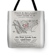 Bronx 1907 Realtor Flyer Tote Bag