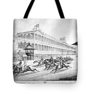 Bronx: Horse Race, 1866 Tote Bag by Granger