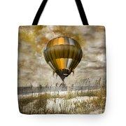 Bronze Beach Ballooning Tote Bag
