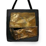 Bronze Hummingbird Box Tote Bag by Dawn Senior-Trask