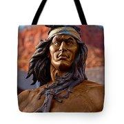 Bronze Native Tote Bag