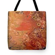 Bronze Oxidation Tote Bag