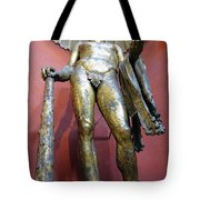 Bronze Statue Of Hercules In The Vatican Museum Tote Bag