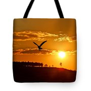 Bronze Sunset Tote Bag
