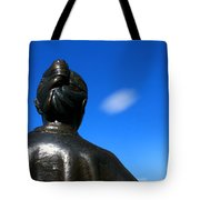 Bronze With Cloud Tote Bag