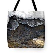 Brook Ice Macro Tote Bag