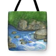 Brook And Stream  Tote Bag