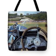 Brooklands From The Hot Seat  Tote Bag