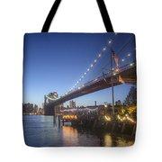 Brooklyn Brdige New York  Tote Bag