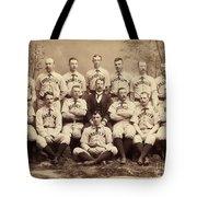 Brooklyn Bridegrooms Baseball Team Tote Bag