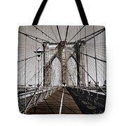 Brooklyn Bridge By Art Farrar Photographs, Ny 1930 Tote Bag