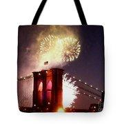 Brooklyn Bridge Celebration Tote Bag