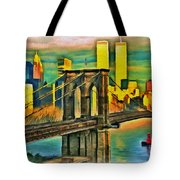 Brooklyn Bridge Collection - 1 Tote Bag