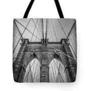 Brooklyn Bridge Goes Up Tote Bag
