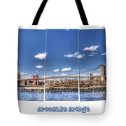 Brooklyn Bridge Pano  Tote Bag