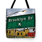 Brooklyn Bridge Thisaway Tote Bag