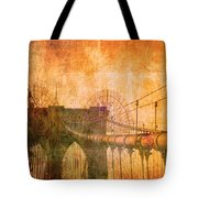 Brooklyn Bridge Vintage Tote Bag