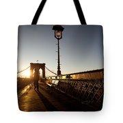 Brooklyn Brige Sunset Tote Bag