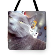 Brooklyn Cat Tote Bag